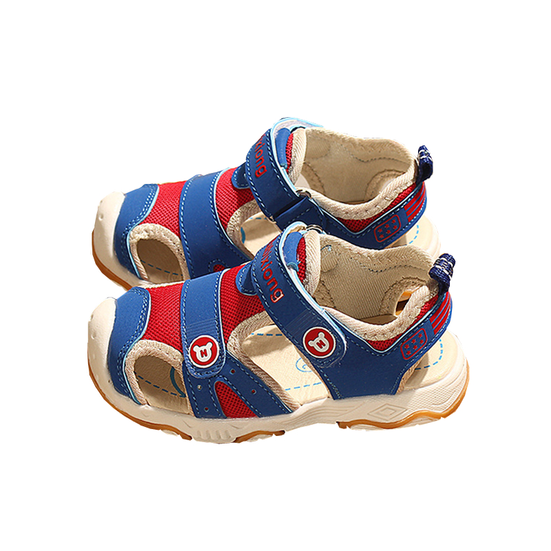 Kocotree Summer Beach Kids Shoes Baby sandals For Boys And Girls Designer Toddler Sandals For 4 10 Years Old Kids Orange Blue in Sandals from Mother Kids