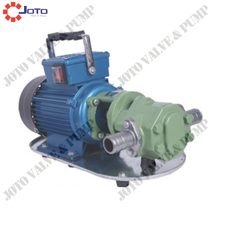 Wholesale China Market Price Cast Iron Electric Gear Pump for Fuel Oil 550W 220V/50HZ