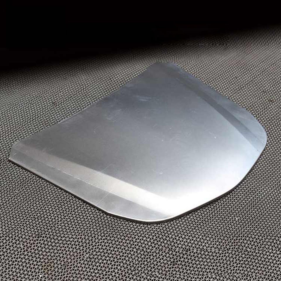 Image 3 - 55*41cm Metal Car Speed Shape Silver Car Bonnet Painted Hood For Vehicle Glass Coating Display MO 179E 5pcs/Lot Free Shipping-in Car Stickers from Automobiles & Motorcycles