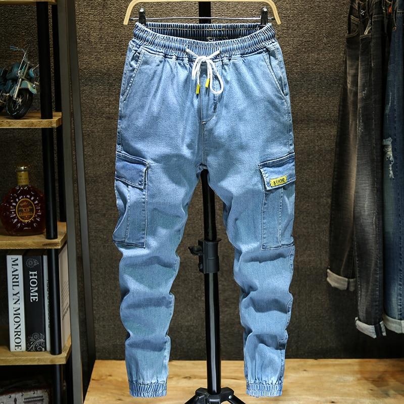 2019 Mens Brand Skinny Jeans Pant Casual Trousers 2018 Denim Black Jeans Homme Stretch Pencil Pants Plus Size Streetwear 3XL