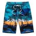 df676ba288 6XL árbol de coco traje de baño para hombre Boardshorts Bermudas Surf  natación Shorts Swim Trunks