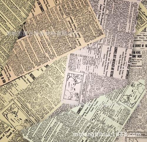 Vieux journaux personnalis s papier peint journaux for Papier peint ecran
