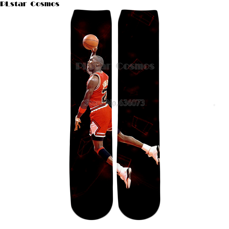 Underwear & Sleepwears Yx Girl Drop Shipping 2018 Summer New Fashion Men Women Socks Jordan Dunk Lore 3d Print Casual Straight Socks Zw105 Factory Direct Selling Price