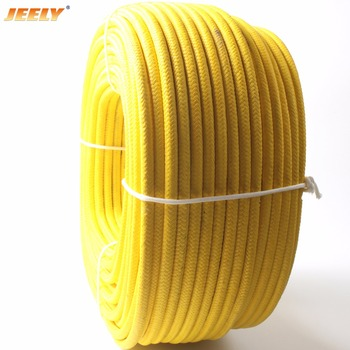 JEELY 7mm 100m UHMWPE Core with UHMWPE Jacket Sailboat Winch Spectra Sheathed Tow Rope Winch Line