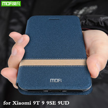 For Xiaomi 9 Case 9SE Cover for Mi 9T Explorer Xiomi SE Housing Mi9 MOFi Silicone Xiaomi9 TPU PU Leather Book Stand Folio