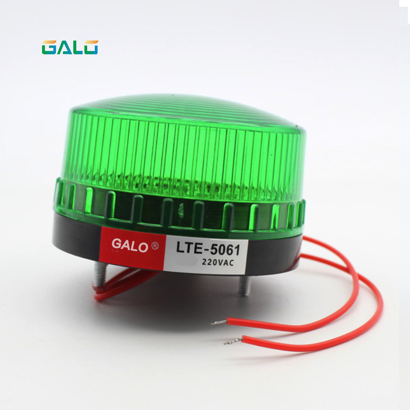High Quality Waterproof 12V 220V Safely Security Alarm Strobe Signal Safety Warning Green Red Orange mini Flashing LED Light in Alarm Lamp from Security Protection