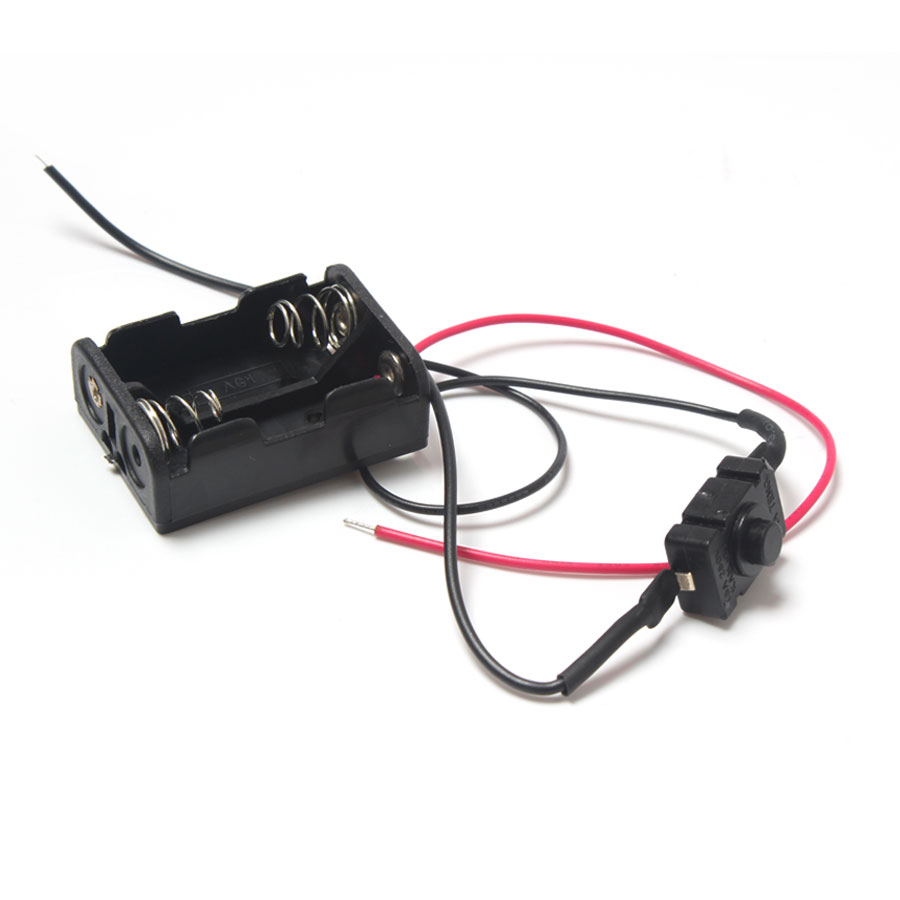 20pcs Plastic 212v 23a Battery Box With On Off Switchwire Wiring 1 2 3 4