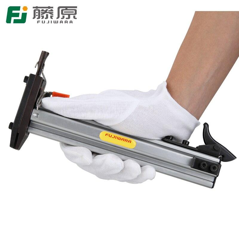 FUJIWARA Manual Steel Nail Gun Cable Slot Nailing Tool Semi Automatic Cement Nail Gun
