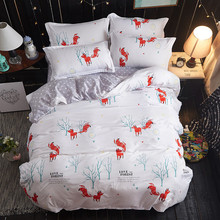95% People Like Kids Bedsheets Bedding Set Washed Cotton Duvet Cover Set Queen Size 1 Quilt Cover 1 Bedding Sheet 2 Pillowcase