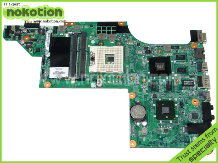 LAPTOP font b MOTHERBOARD b font for HP PAVILION DV7 DV7T 605320 001 INTEL HM55 With