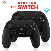 K ISHAKO For Switch Pro Bluetooth Wireless Gamepad Remote Controller Joystick For Nintend Switch Console Game Pad For PC Games wireless bluetooth game controller for nintend switch gamepad joystick for moblie phone games joystick