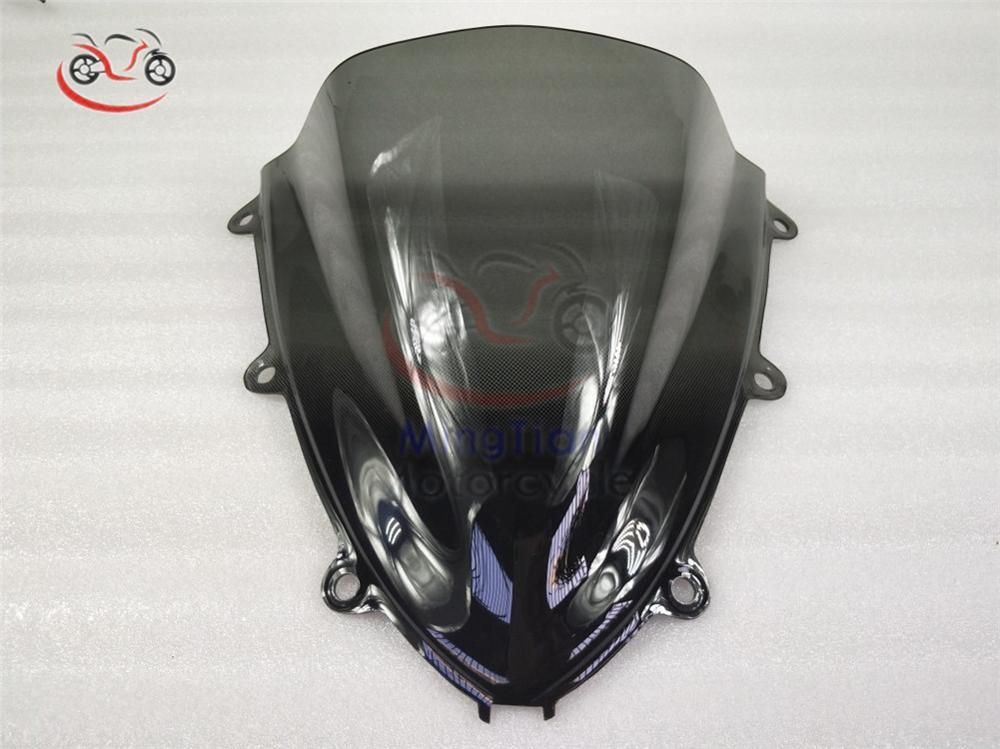 D//Bubble Windscreen Windshield for Honda CBR1000RR 2008 2009 2010 2011 Black