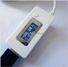 2014 real del amperímetro del voltímetro digital usb tester nuevo led cargador doctor voltaje current meter tester detector power monitor