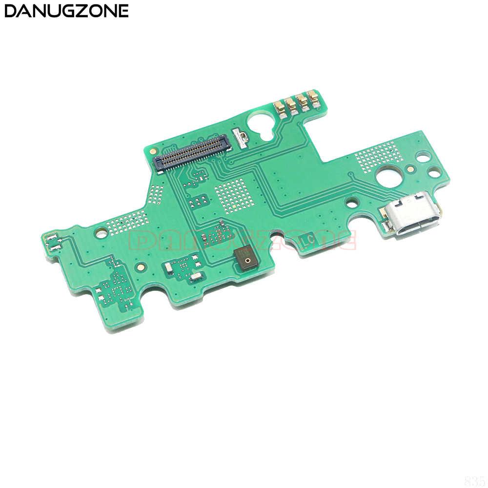 USB 充電ポートドックプラグジャックコネクタ充電ボードフレックスケーブルとマイク Huawei 社のタブレット M3 Wifi バージョン