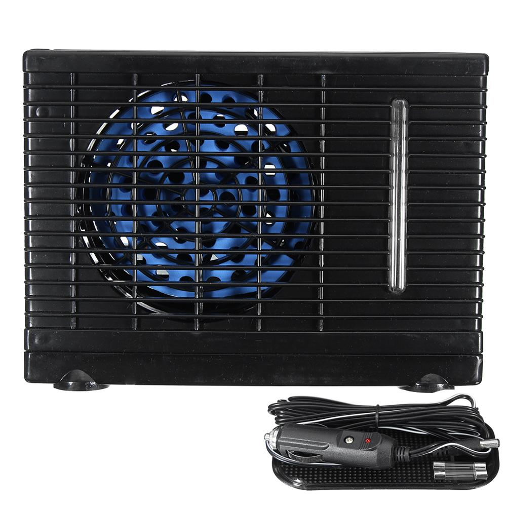 Universal DC12V Portable 12V Water Refrigeration Air Conditioning Fan Car Refrigerator Car Accessories For Car And