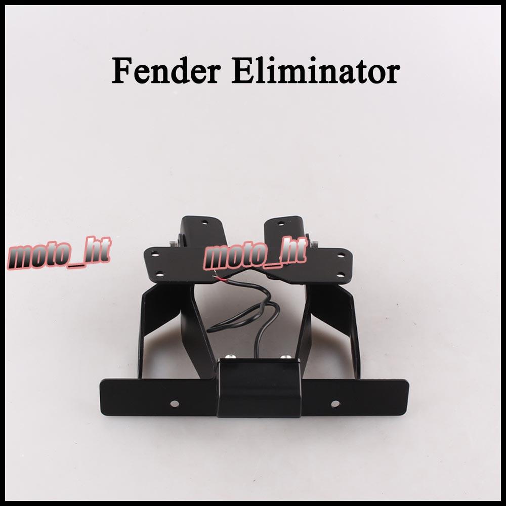 Fender Eliminator Registration Plate Holder License Frame for KAWASAKI Z750 Z1000 2007 2008 2009