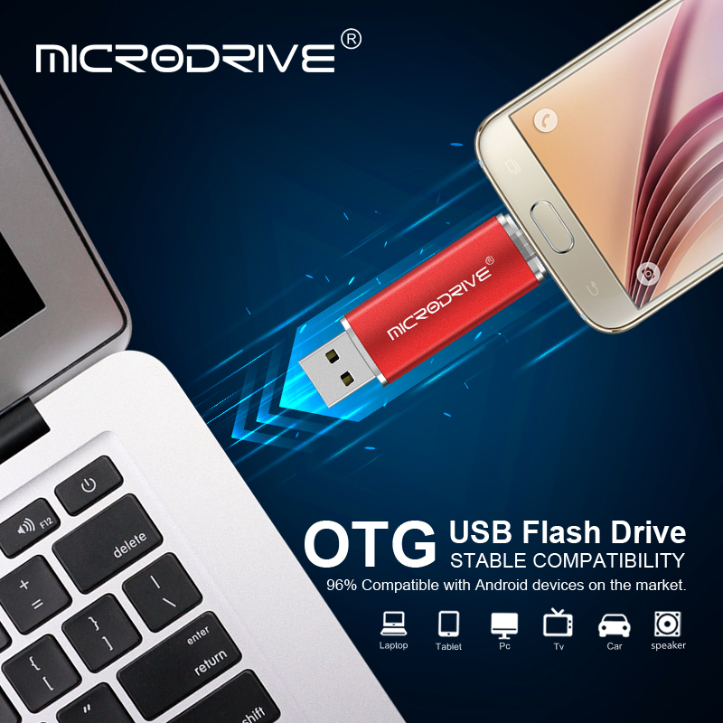 Image 5 - Colorful Smart Phone USB Flash Drive 32gb Pen Drive 64gb pendrive 16gb OTG external storage micro usb memory stick Flash Drive-in USB Flash Drives from Computer & Office