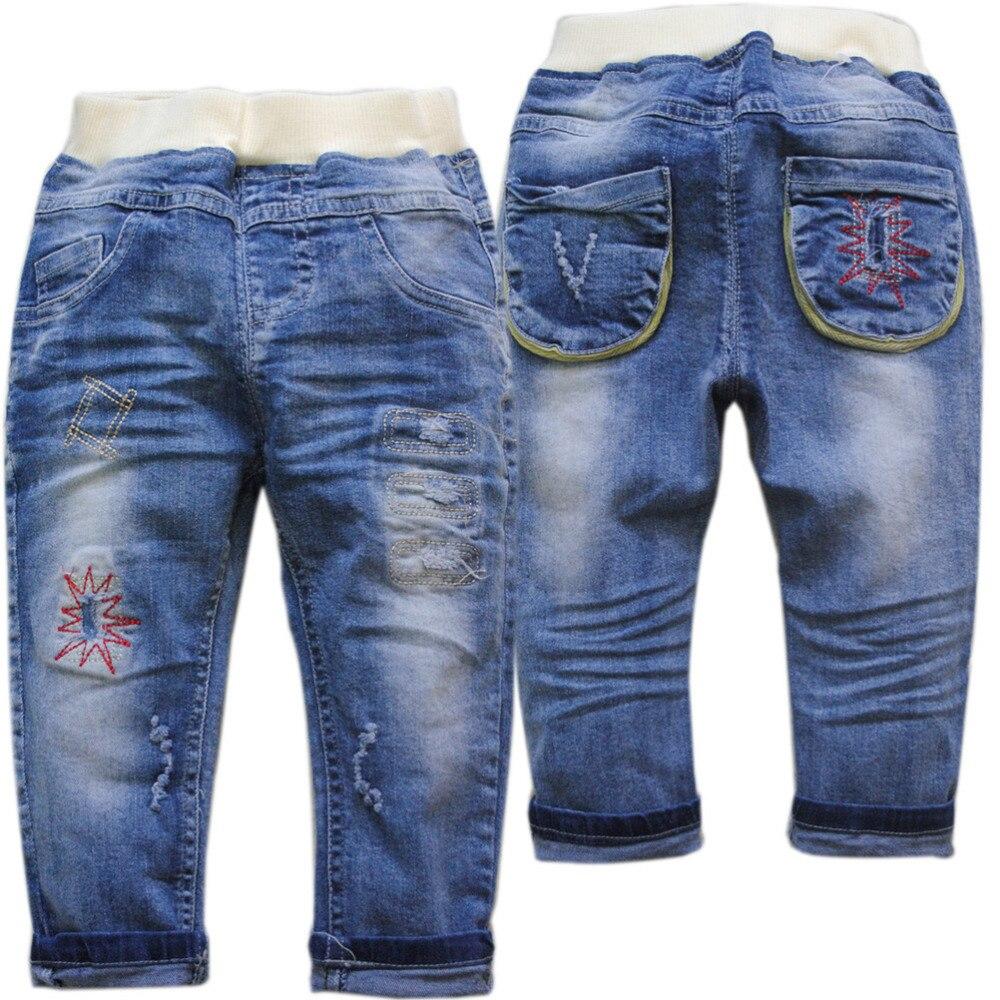 4007 puha gyerek nadrág nadrág baba fiú farmer lány gyermek - Bébi ruházat