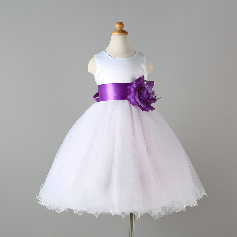 Children Clothing Kids 1 2 3 4 5 6 7 8 9 10 Burgundy Pink Blue Purple and White Wedding Dresses for Events for Girls 2 10 8 10 1 6 50010