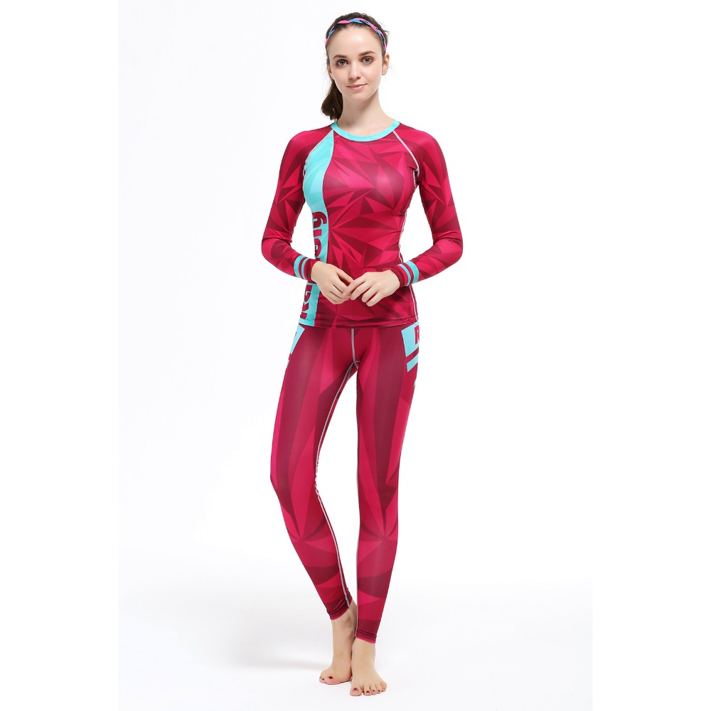 Women Sports Set Running Sports Shirt Women Yoga Sets Two Pieces Breathable Suit High Quality Quick-Drying Gym Sports Suits quick drying gym sports suits breathable suit compression top quality fitness women yoga sets two pieces running sports shirt