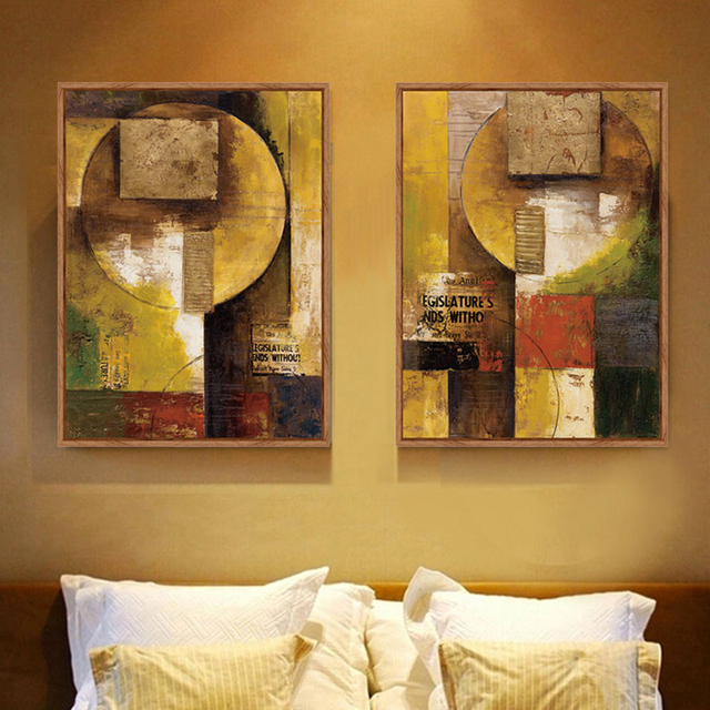 Abstract Painting Canvas Prints Cuadros Pictures Decorative