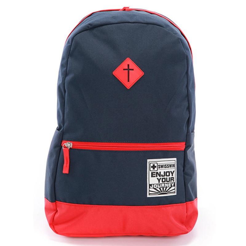 High Quality Swisswin Backpack For Students Large Capacity Travel Backpack Men Women 15 Laptop Backpack Mochila Escolar SWK2008