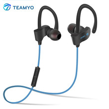 2016 TEAMYO S4 Stereo In-Ear Bluetooth Earphone Wireless Sport Headsets Music Player with Mic For iPhone 5 6 6s SE Samsung MP3