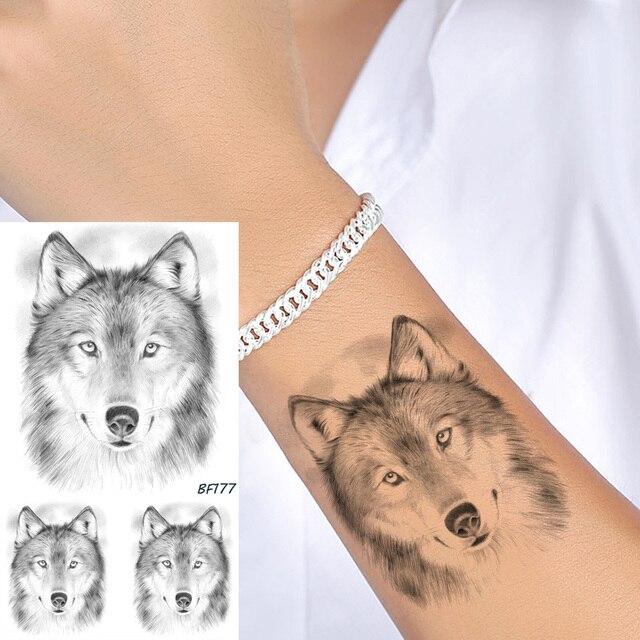 Mujeres Cuerpo Arte Tatuaje Temporal Pegatinas Brazo Lápiz Boceto