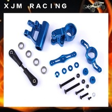 CNC Metal arms steering group Kits for 1/5 rc car hpi rovan baja losi 5ive-T parts