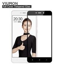 Для Xiaomi Redmi 4А Закаленное Стекло Полный Обложка Протектор Экрана для Xiomi Redmi 4А Полное Покрытие Переднее Стекло Фильм с Чистой Комплект