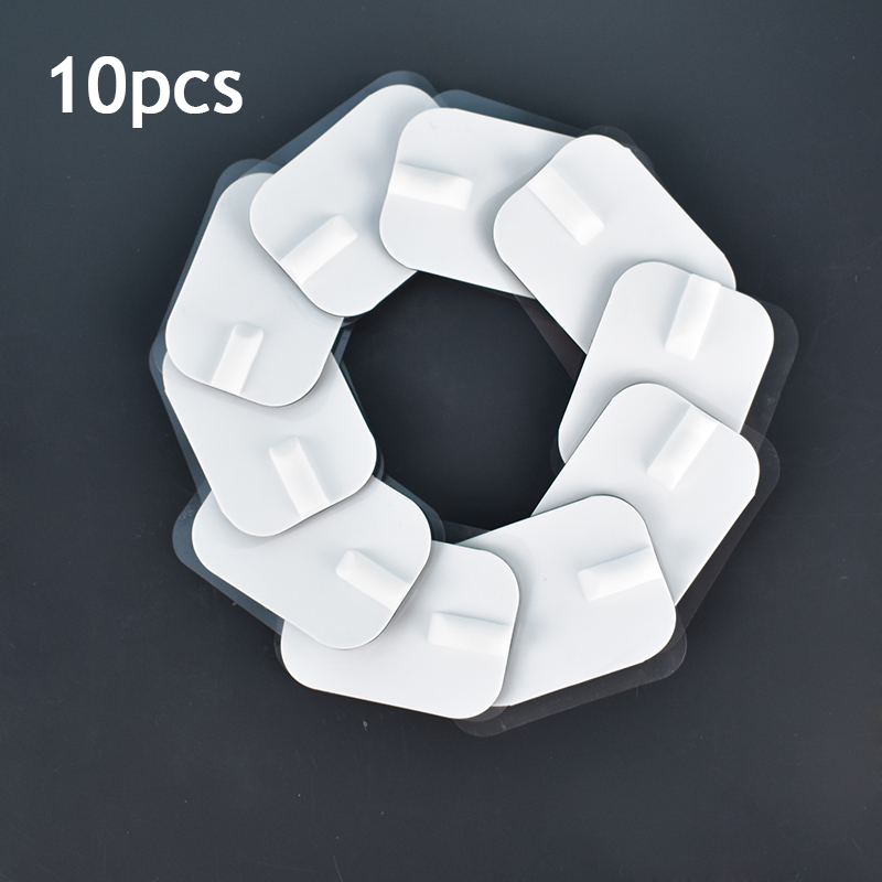 10pcs 6*4cm Reusable Self Adhesive Tens Electrode Pads For Ems Nerve Muscle Stimulator Acupuncture Physiotherapy Massager 2mm