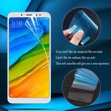 цена Nano Explosion-proof Soft Film For Xiaomi Redmi Note 8 7 6 5 Pro 4X Mi 9T Screen Protector Xiaomi Redmi 6 K20 Pro S2 6A 5 Plus онлайн в 2017 году
