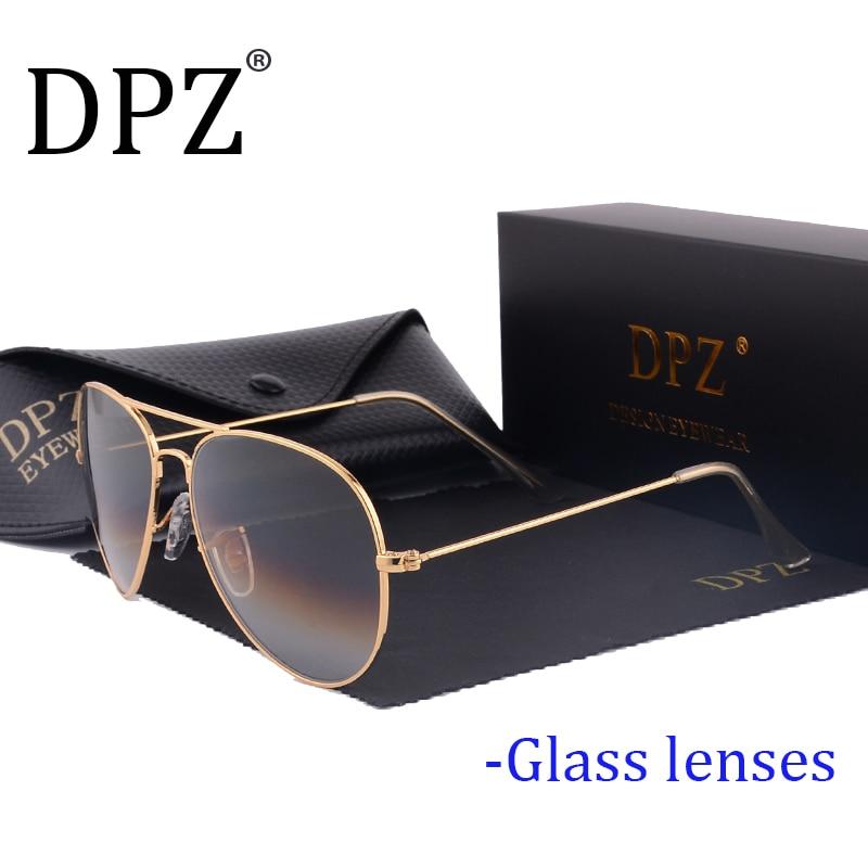 2020 DPZ Glass Lenses Gradient Women Sunglasses Men 58mm 3025 Mirror G15 Gafas Hot Rayeds Brand Sun Glasses UV400