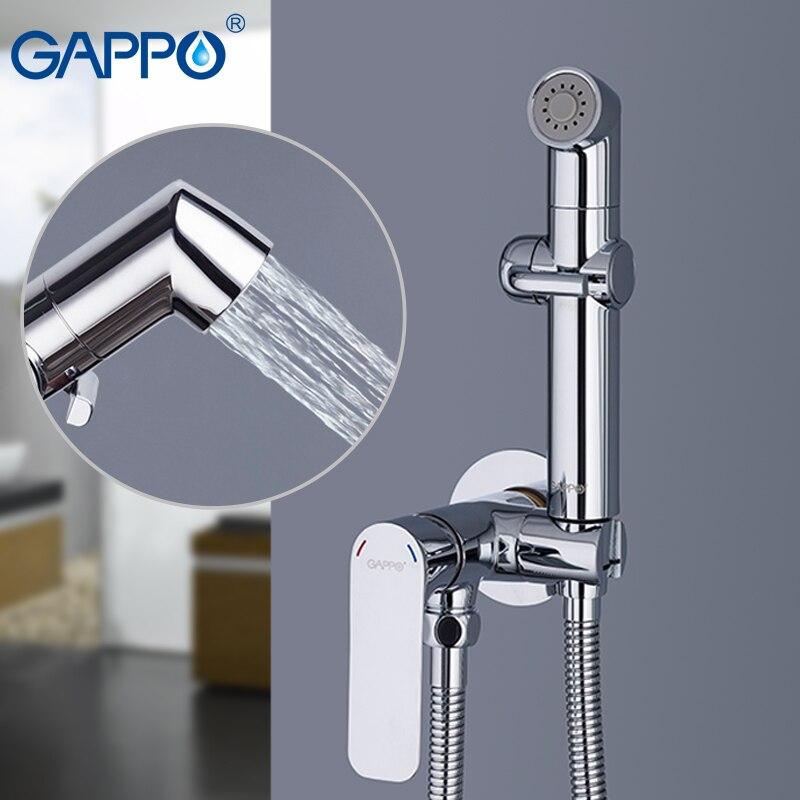 GAPPO Bidet bagno doccia a mano bidet wc spruzzatore igienico doccia bidet rubinetto fissato al muro bidet rubinetti del bagno