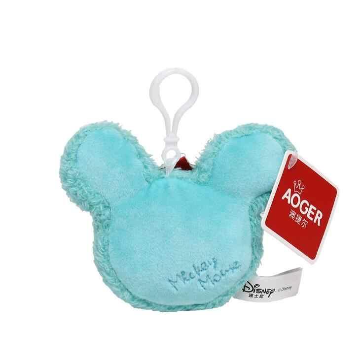 Genuine Da Disney Mickey Desenhos Animados do Kawaii plush doll 10 centímetros Charme Pingente Acessórios de Moda para Crianças Natal Presente de Aniversário crianças brinquedo