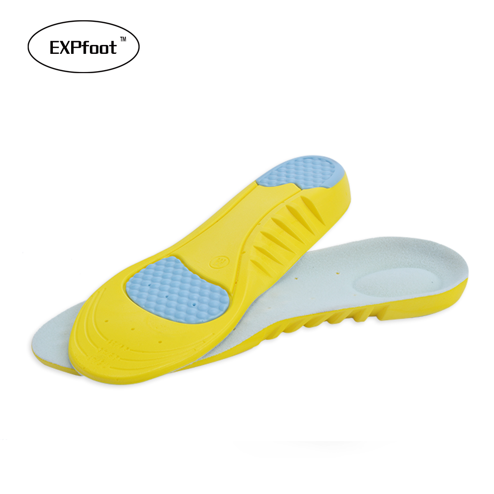 Sports  shock absorption pads  running sport shoes inserts Arch Supports breathable insoles foot health care for men and women arch supports insoles for shoes sport breathable eva insoles breathable foot pads massage sport shoe insole xd 085