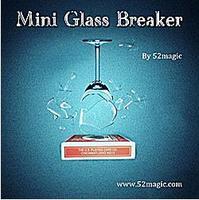 Free Shipping Mini Glass Breaker Remote Control Magic Tricks Mentalism Magic Bicycle Card Box Version Close