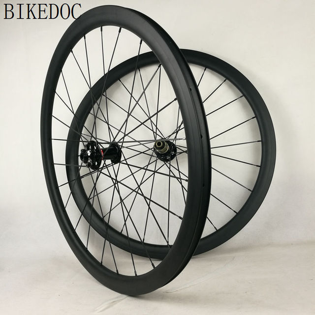 BIKEDOC 25MM 700C Carbon Road Disc Wheel Clincher 38MM 791 792 Disc Brake Hub