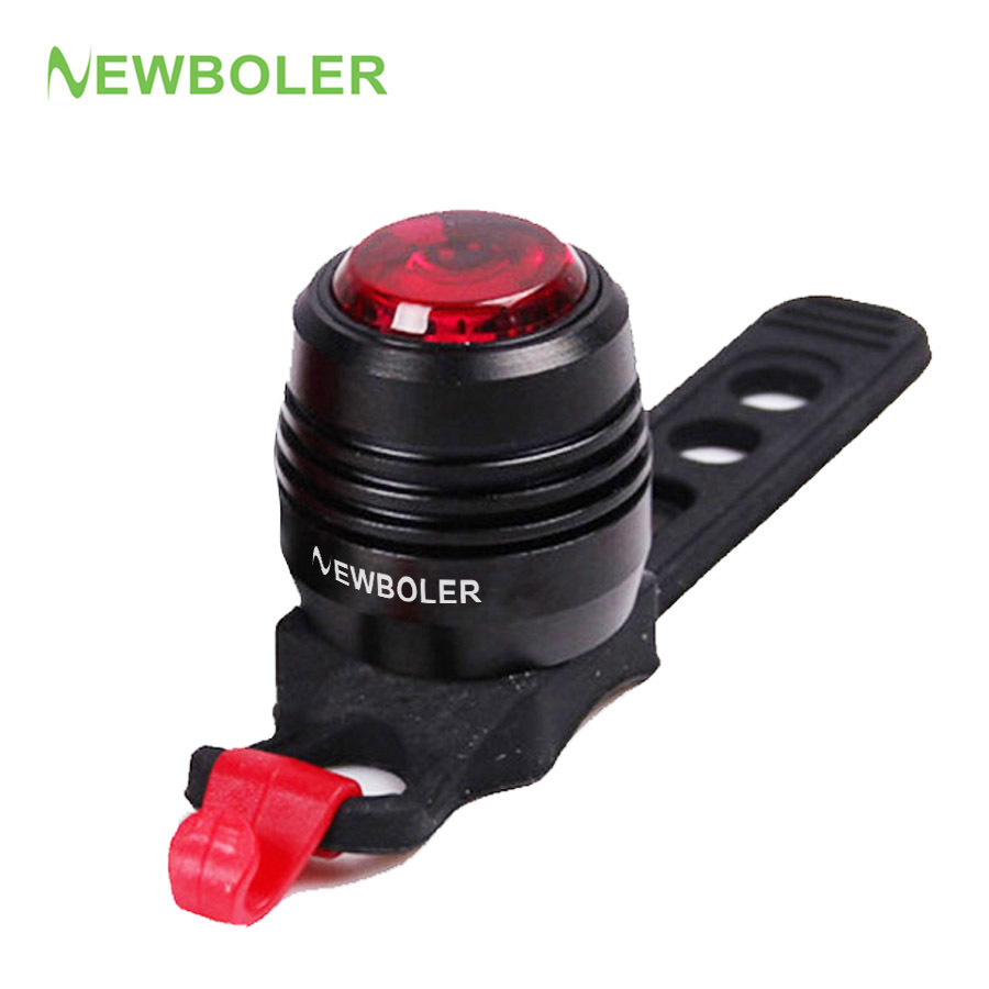 NEWBOLER 2018 Portable Rechargeable LED USB Mountain Bike Tail Light MTB Safety Warning Bicycle Rear Light Lamp Bycicle Light