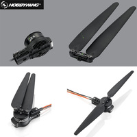 Hobbywing X6 Integrated Power System for Agricultural Drone motor ESC propeller and 30mm tube adapter motor mount combo
