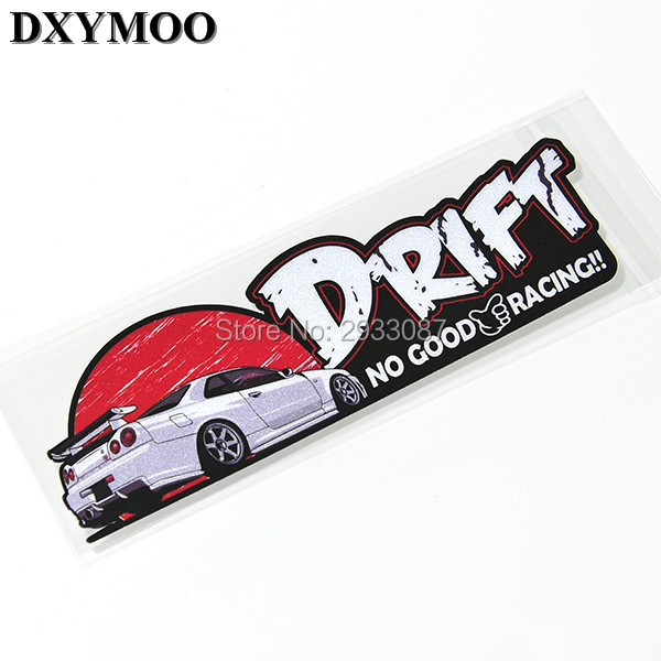 Jdm drift gtr 86 brz no good racing car motorcycle sticker decals vinyl helmet bike laptop
