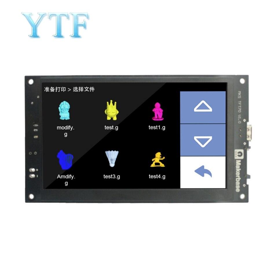 Imprimante 3D couleur 7 pouces TFT écran tactile MKS TFT70 V1.0-in 3D Printer Parts & Accessories from Ordinateur et bureautique on AliExpress - 11.11_Double 11_Singles' Day 1