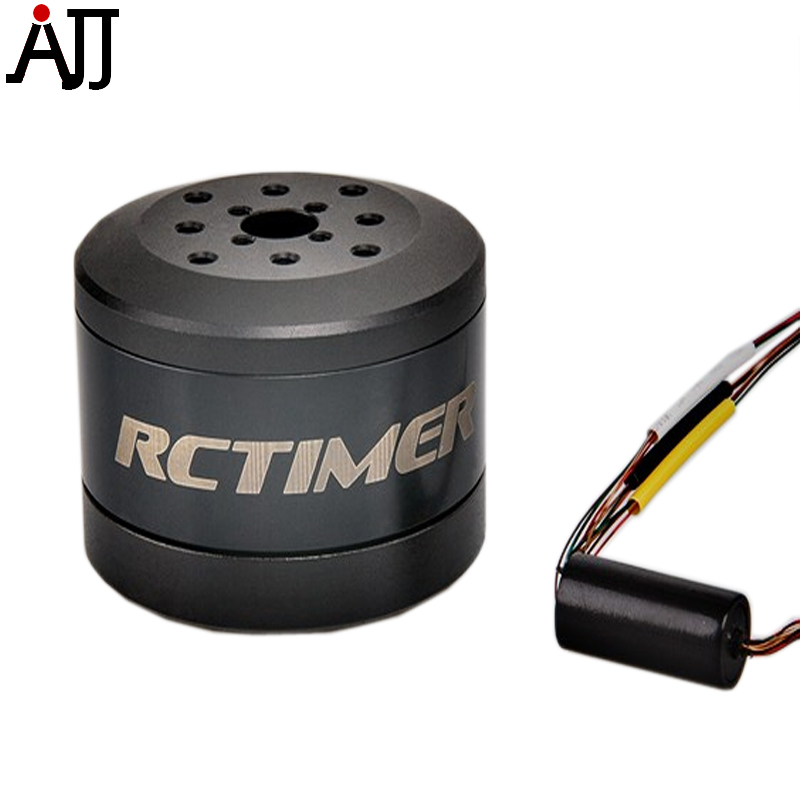 Rctimer 24N22P 4114 100T Brushless Gimbal Motor with Slip Ring 5.0 hollow shaft for FPV Racing Drone Mulitrotor Camera Motor hj5208 75t brushless gimbal motor for 5d2 camera fpv aerial photography black