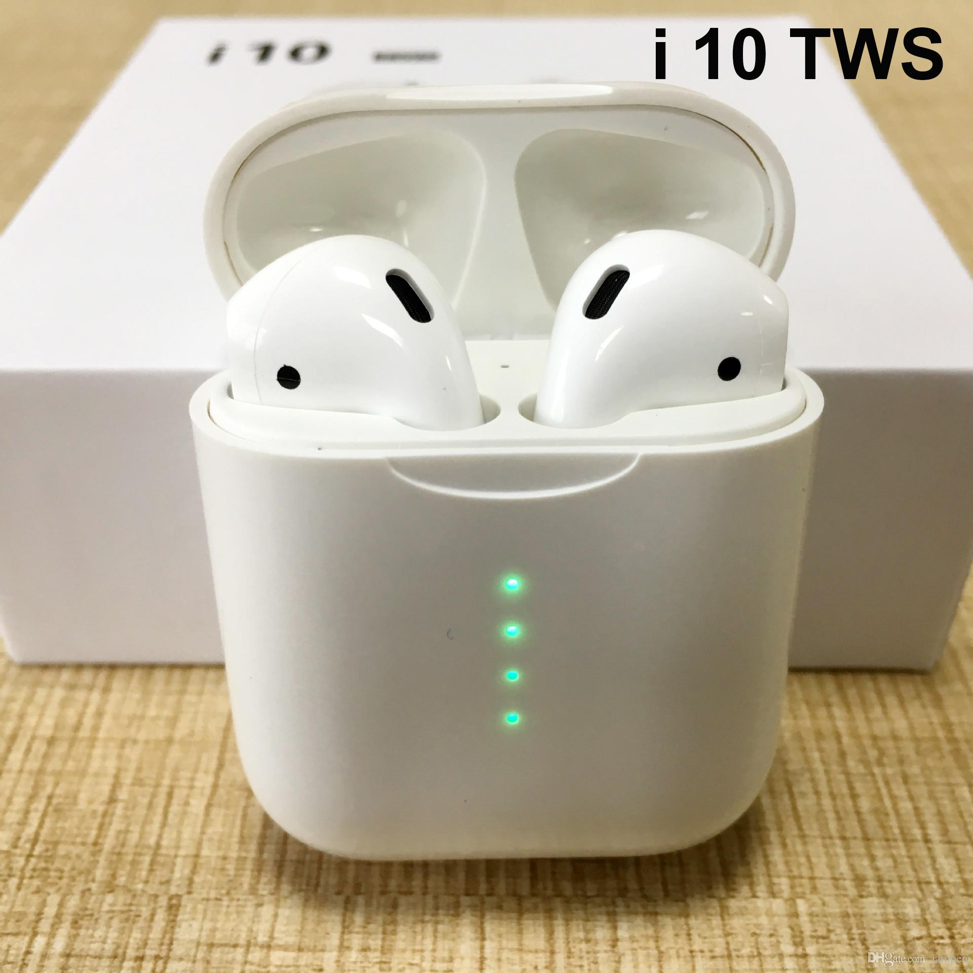 RAVI i10 tws/i9s tws sans fil Bluetooth casques d'écoute tws i10 pour tous les iphone onex/XS MAX air dots i12