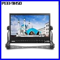 P133 9HSD 13 Inch IPS Broadcast Monitor 9 24V with 3G SDI HDMI AV YPbPr Professional Director Desktop LCD Monitors 1920*1080