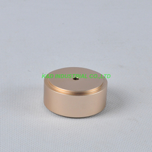 цена 1pc 49x22mm Gold aluminum feet HIFI pad Chassis DIY Headphone Tube Amplifier Speaker онлайн в 2017 году