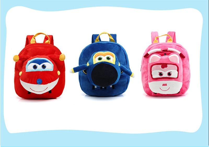 Fondlecare-Kids-Cartoon-School-Bag-3D-Super-Wings-Jett-Plush-Backpack-For-Kindergarten-Girl-Boys-Schoolbag-Childrens-Gift-LF795-1