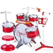 Большие Детские барабаны головоломки раннее образование начинающих Ударные музыкальные игрушки