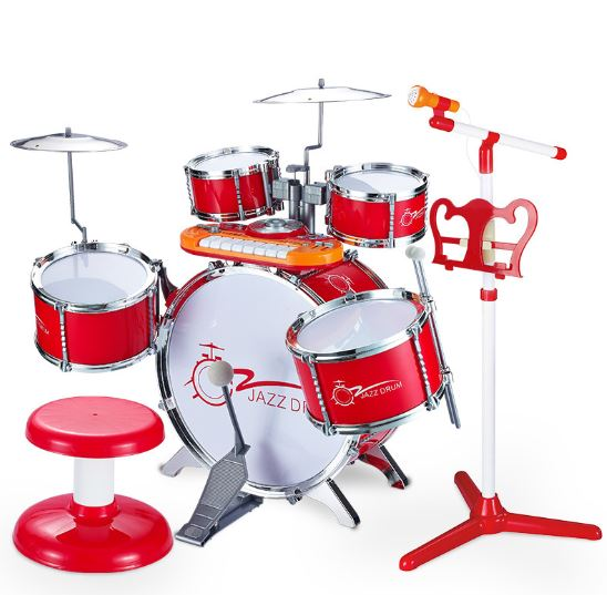 Batterie pour enfants grande batterie Puzzle éducation précoce débutants percussion musique jouets