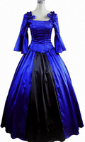 Womens Blue Princess Dress Gothic Lolita Dress Halloween Costumes Cosplay Costume Gothic Lolita Dress Customized
